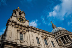 St. Paul's Cathedral. Paul Royalty Free Stock Photography