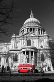 St. Paul's Cathedral in London,UK Stock Images