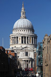 St. Paul's Cathedral  in London,  England Stock Images