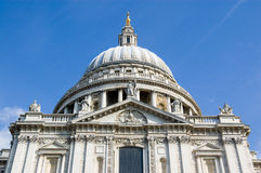 St Paul's Cathedral, southern facade. Stock Image