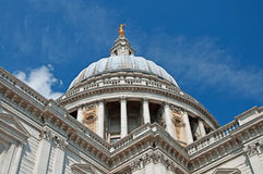 St Pauls Cathedral on a Sunny Day Stock Image