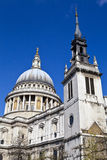 St. Paul's Cathedral and the Tower of the Former St. Augustine C Stock Image