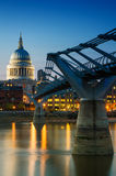 St. Paul's cathedral at twilight Royalty Free Stock Photo