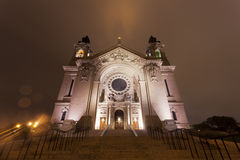 St. Paul's Cathedral in the Twin Cities royalty free stock photography