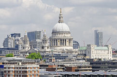 St Pauls Cathedral. A view of St Pauls Cathedral in London Stock Photography