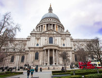 St Paul`s Cathedral. Royalty Free Stock Photo