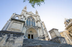 St Paul's Cathedral which is located at the center of Dunedin. Royalty Free Stock Photos