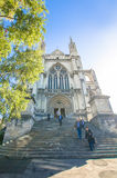 St Paul's Cathedral which is located at the center of Dunedin. Stock Photo