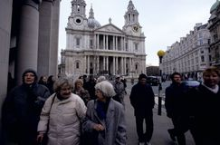 St Paul's Catherdral, London Royalty Free Stock Images