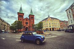 St. Paul`s Church, Aarhus Royalty Free Stock Photography