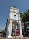 St. Pauls Melaka. St. Paul`s Church is a historic church building in Malacca, Malaysia. It was originally built in 1521 Royalty Free Stock Images