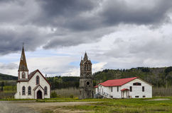 St Paul's Church, Kitwanga, Canada Stock Photos