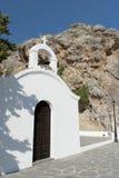 St Paul s Church, Lindos, Rhodes Stock Photos