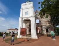St.Paul's church at Malacca Malaysia Stock Photo