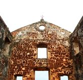 St.paul's church ruins Stock Image