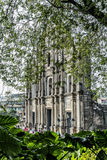 St paul's church ruins tourist attraction landmark in macau chin Stock Image
