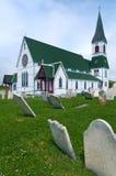 St Paul's Church, Trinity, Newfoundland. St Paul's Anglican church in the town of Trinity, Newfoundland, Canada stock images