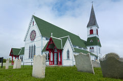 St Paul's Church, Trinity, Newfoundland Royalty Free Stock Photos