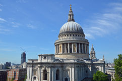 St Paul's dome view Royalty Free Stock Images