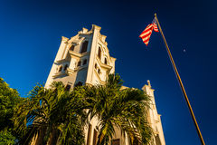 St Paul's Episcopal Church, in Key West, Florida. Royalty Free Stock Photo