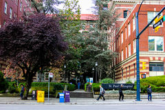 St. Paul's Hospital, Burrard St., Vancouver, B.C. Stock Image