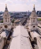 St Paul&-x27; s katedra, Londyn, Anglia zdjęcie stock