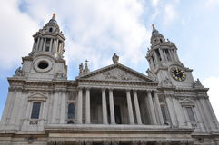 St Paul ` s Kathedraal - Londen, het UK Stock Fotografie