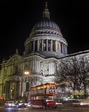 St Paul ` s Kathedraal in Londen stock foto's