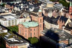 St- Paul` s Kathedrale Frankfurt lizenzfreies stockfoto