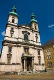St Paul ` s kościół w Nysa, Polska obraz stock