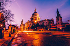 St Paul. Saint Paul Cathedral looking beautiful as always stock image