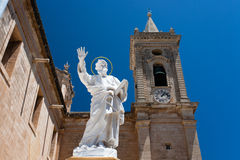 St Paul statue Stock Image