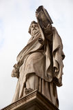 St. Paul statue in Rome. For the Cathedral Royalty Free Stock Image