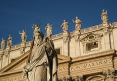 St Peters Basilica Stock Photos
