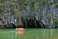 St Paul Subterranean River de Puerto Princesa photos stock