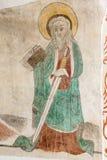 St Paul z kordzikiem i książką w jego ręki Obraz Royalty Free