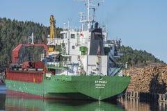 St.Pauli au port de Halden Photos stock