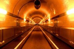 St Pauli Elbe Tunnel de Hamburgo fotografía de archivo