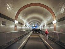 St Pauli Elbtunnel St Pauli Elbe Tunnel in Hamburg Royalty Free Stock Image