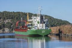 St.Pauli στο λιμάνι Halden Στοκ φωτογραφίες με δικαίωμα ελεύθερης χρήσης