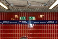 St Pauli, Reeberbahn - Zdjęcie Royalty Free