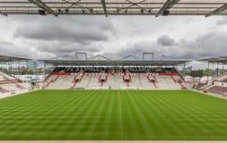 St Pauli voetbalclub, Hamburg stock afbeeldingen