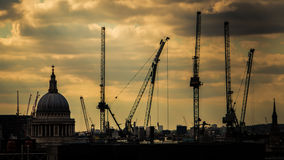 St- Paulkathedrale London Großbritannien Lizenzfreies Stockfoto