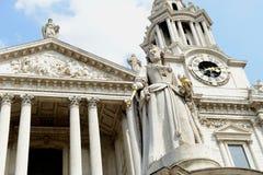 St Pauls大教堂伦敦 图库摄影