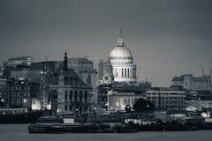 St Pauls大教堂伦敦 库存照片
