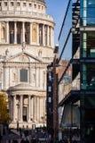 St Pauls大教堂彼得斯小山伦敦英国 库存图片