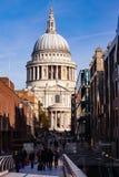 St Pauls大教堂彼得斯小山伦敦英国 免版税库存图片