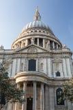 St Pauls大教堂教会伦敦英国 库存照片
