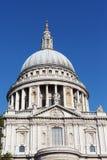 St. Pauls大教堂,伦敦。 免版税库存图片