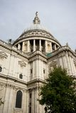 St Pauls大教堂,伦敦市,英国 免版税库存图片